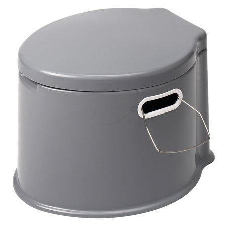 Meigar Large Portable Toilet Potty Bedside Commode for Adults The Elderly Travel Camping Hiking Outdoor