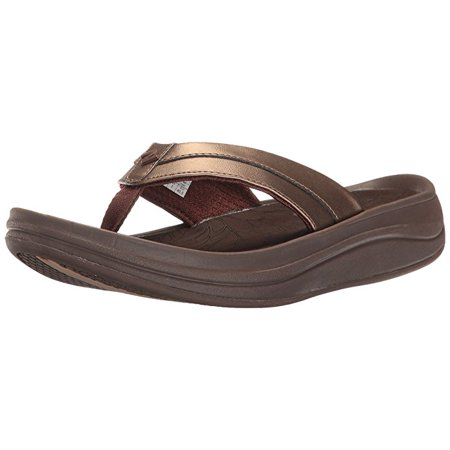 546ed935782 New Balance - New Balance W6088BRZ  Revive Thong Flip Flops Brown Womens  Sandal - Walmart.com