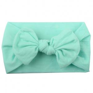 Fancyleo Girls Kids Baby Cotton Bow Hair Band Headband Stretch Turban Knot (Girls Stretch Headband)