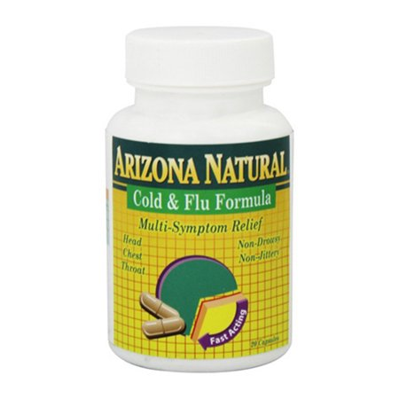 A-ok Natural - Arizona Natural Homeopathic Cold And Flu Formula Capsules - 20 Ea