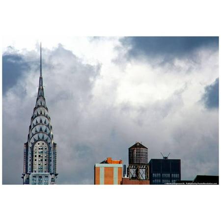 The Chrysler Building New York City Poster - 19x13