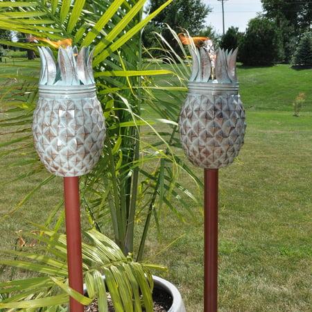 Pineapple Tiki Torch