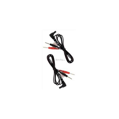 Medi-Stim LW60SPL 56 inch Right Angle Female Plug Lead Wires, Pin Connection