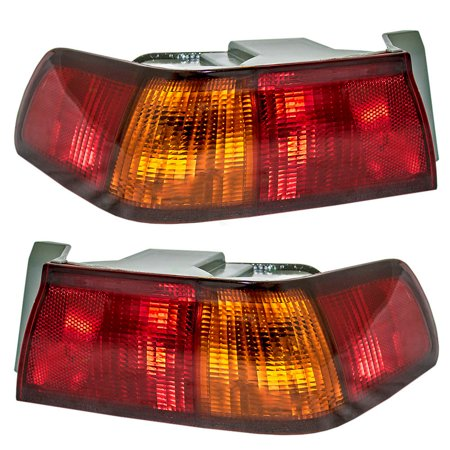NEW PAIR OF TAIL LIGHTS FIT TOYOTA CAMRY 1997-99 TO2800124 TO2801124 81550-AA011 81560AA011 81550AA011 81560-AA011