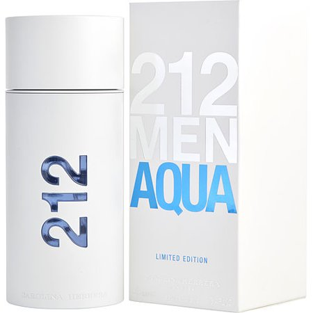212 AQUA by Carolina Herrera - EDT SPRAY 3.4 OZ (LIMITED EDITION) - MEN