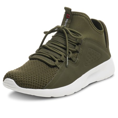 Alpine Swiss Enzo Men's Lightweight Knit Fashion Sneakers (Zapatos Men Jordan)