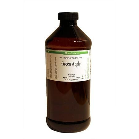 LorAnn Oils Super Strength Green Apple Flavor Oil, 16 Ounce