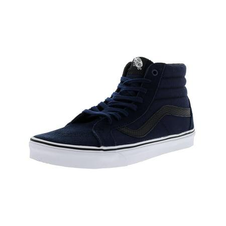Vans Sk8-Hi Reissue Ca C And P Dress Blues High-Top Canvas Skateboarding Shoe - 10M / (Best Vans Shoes For Skateboarding)