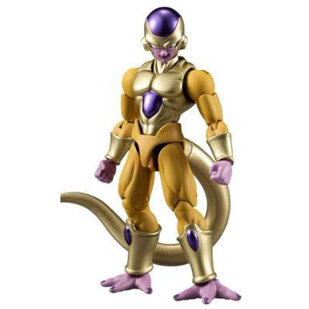 Dragon Ball Z Shodo Gold Frieza PVC Figures