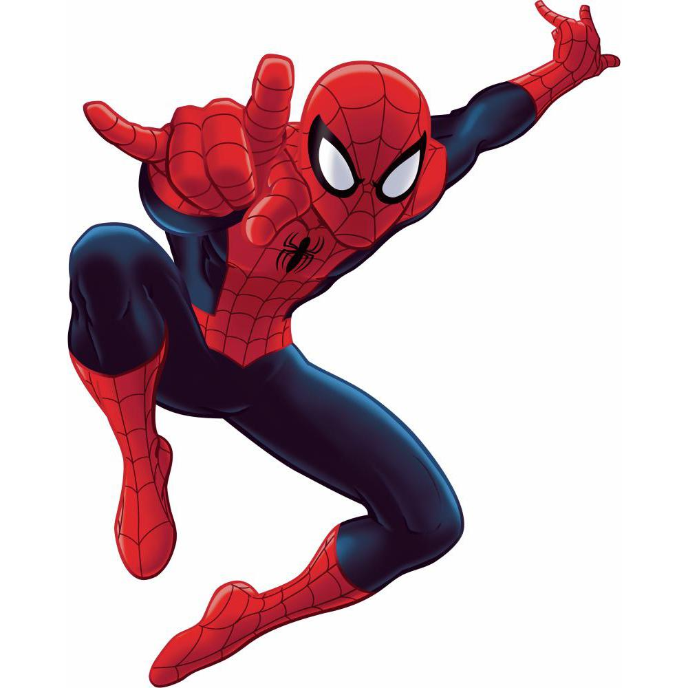 "Ultimate Spider Man Giant Peel & Stick Wall Decal 53"" Giant Marvel Comics Spiderman Stickers"