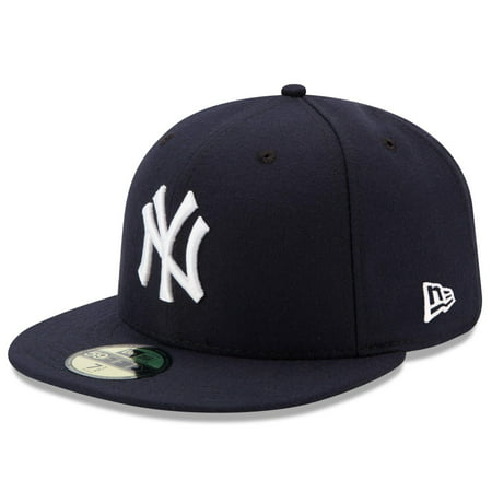 Basic Gray 59fifty Fitted Cap (New York Yankees New Era Game Authentic Collection On-Field 59FIFTY Fitted Hat -)