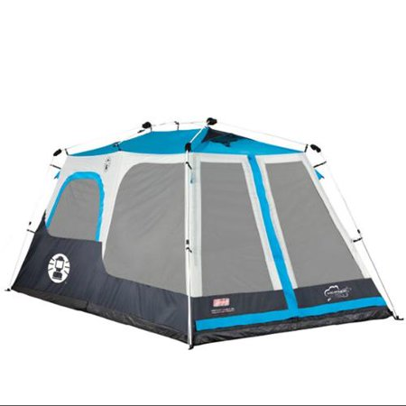 Coleman 8 Person Instant Tent 2 Rooms Waterproof Family