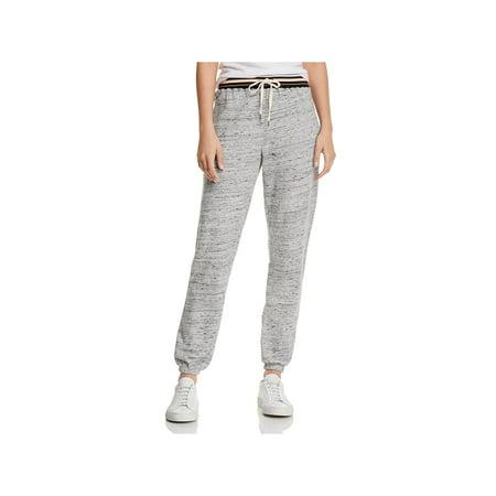 Splendid Womens Taffy Jogger Striped Sweatpants