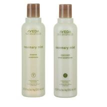 Shampoo & Conditioner: Aveda Rosemary Mint