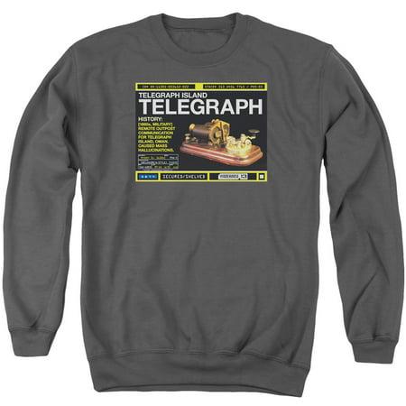 Warehouse 13 Telegraph Island Mens Crewneck Sweatshirt
