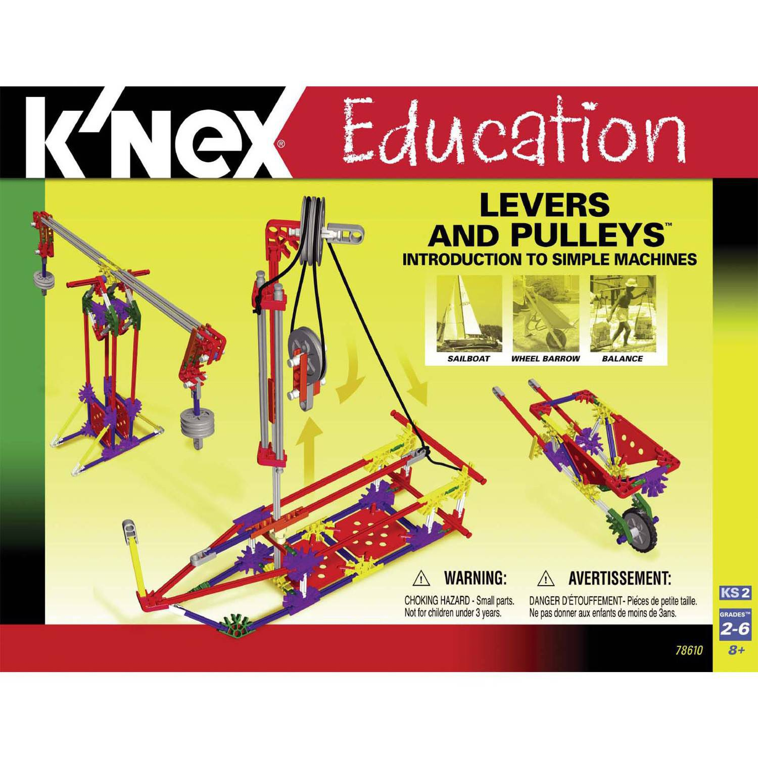 K'NEX Education: Intro to Simple Machines - Levers and Pulleys Building Set