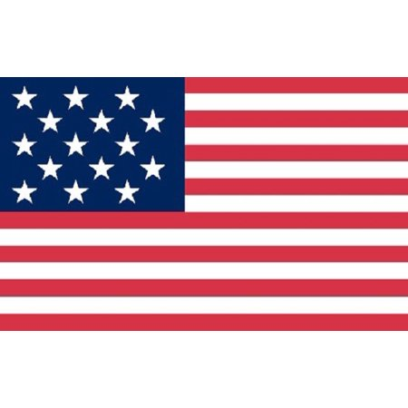 15 Star Spangled Banner Flag USA United States Historical Banner Pennant 3x5