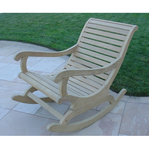 Royal Teak by Lanza Products Roble Teak Rocking Chair