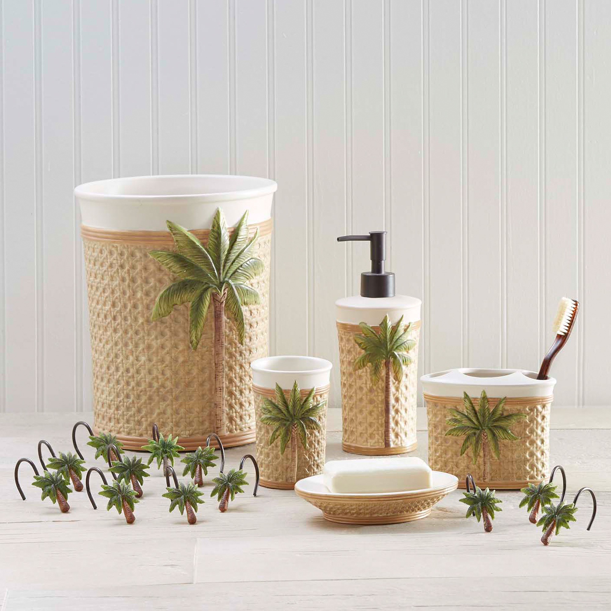 Better Homes and Gardens Palm Decorative Bath Collection - Tumbler