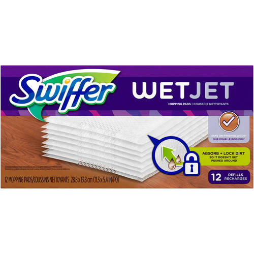 Swiffer Wet Jet Mopping Pads 12 ct Box