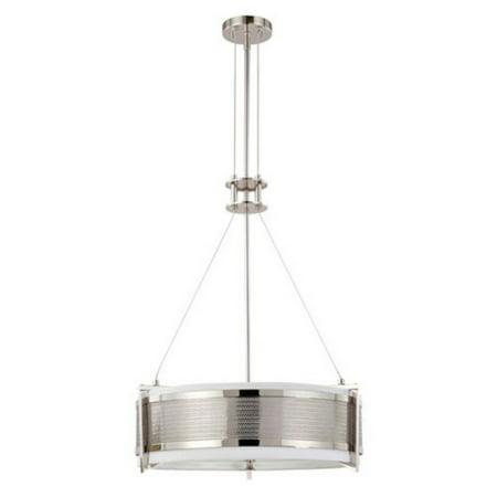 Polished Nickel Lantern Pendant (Nuvo Lighting  60/4443  Pendants  Diesel  Indoor Lighting  ;Polished)