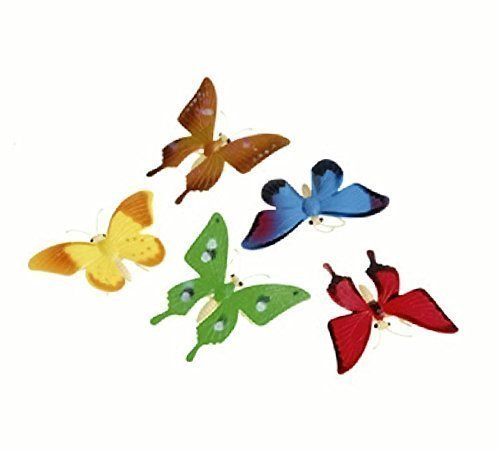 Detailed Toy Butterflies Assorted Breeds Novelty (2-Pack ...