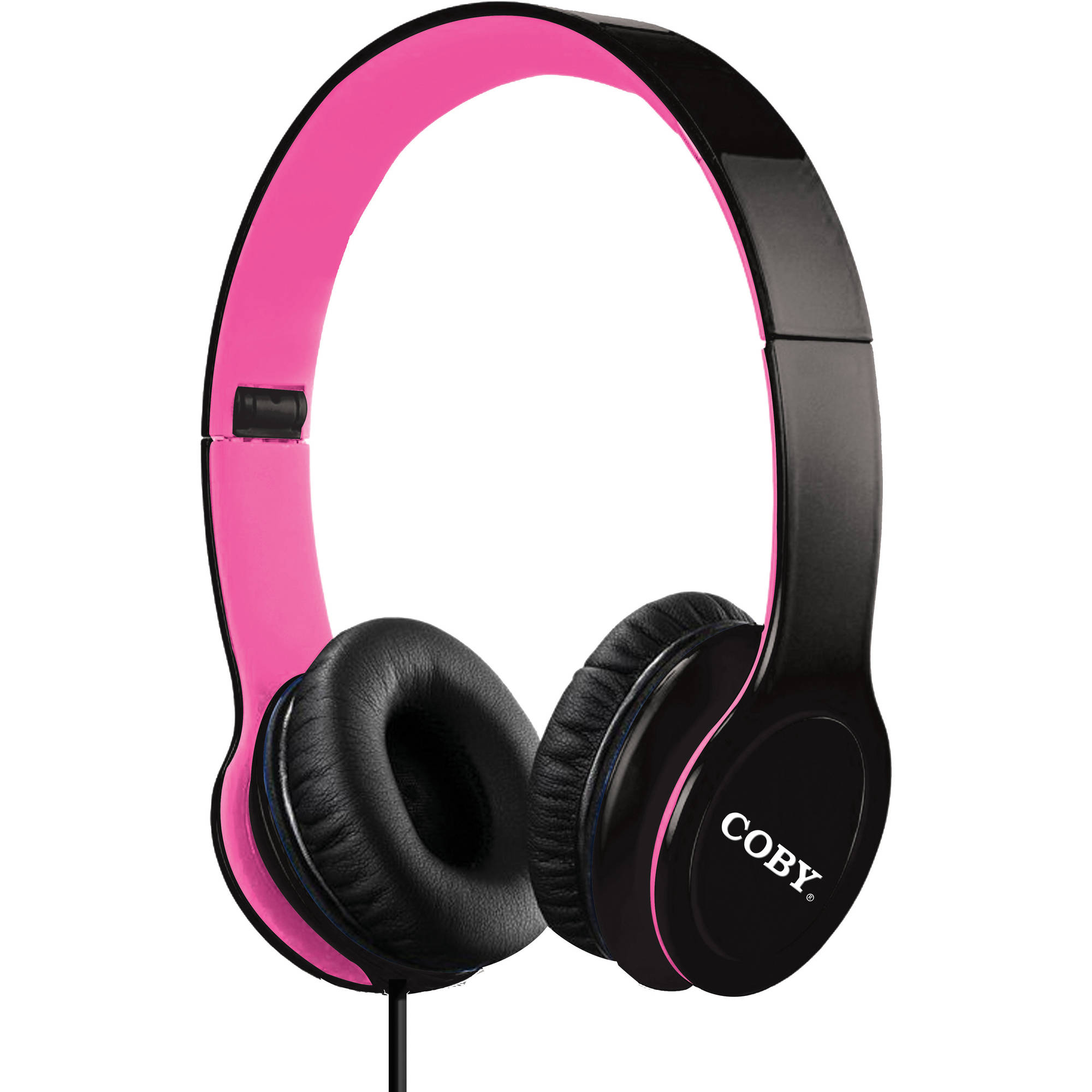Coby Folding Stereo Headphones