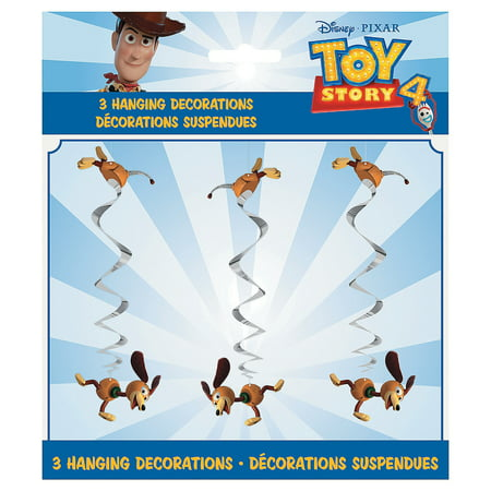 Disney Toy Story 4 Hanging Swirls for Birthday - Party Supplies - Licensed Tableware - Misc Licensed Tableware - Birthday - 3
