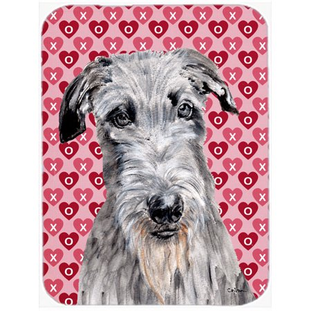 Scottish Deerhound Hearts and Love Mouse Pad, Hot Pad or Trivet SC9706MP