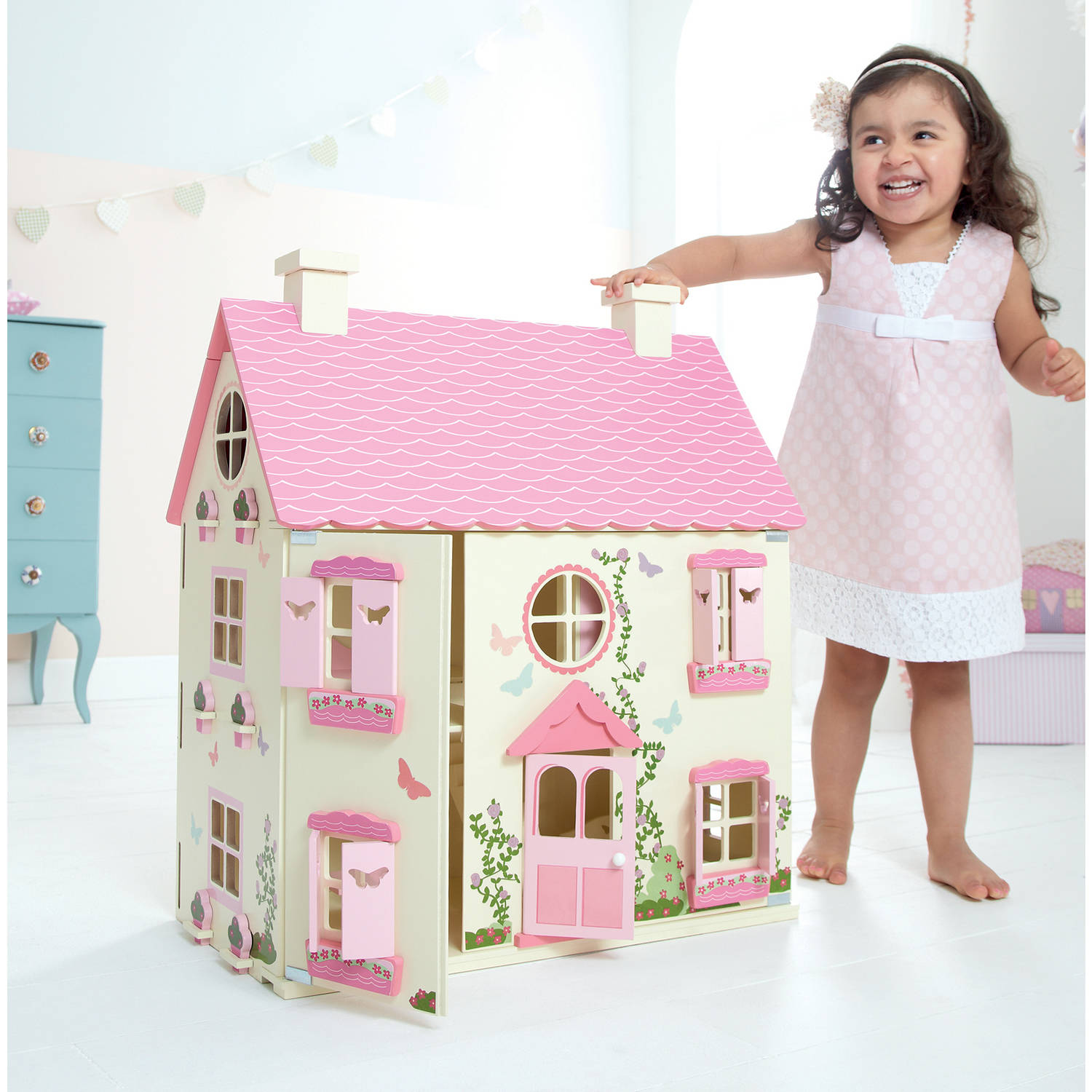 Wooden Doll House Walmart Com