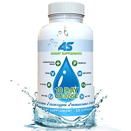 Angry Supplements 10 Day Colon Cleanse (30 Count)