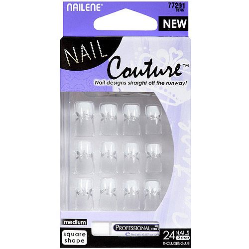 Nailene Nail Couture Artificial Nails, 24 count