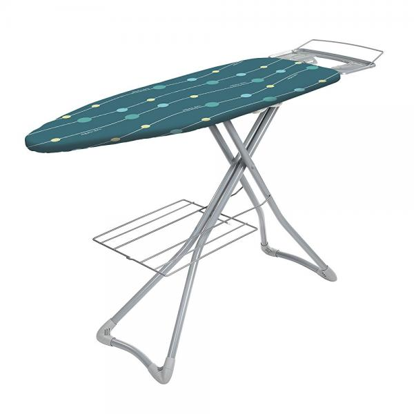 Minky Pro Iron Station Ironing Board, Extra Wide Surface, 48 by 17-Inch
