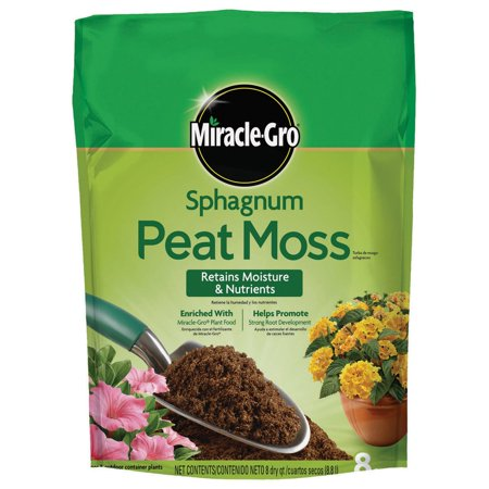 Miracle-Gro Sphagnum Peat Moss, 8 -