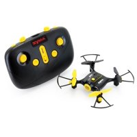 Tenergy Syma X20 Mini Drone, Headless Quadcopter RC Drone with Altitude Hold and Stunt Button, Easy to Fly Pocket Drone for Beginner (Tenergy Exclusive Black)