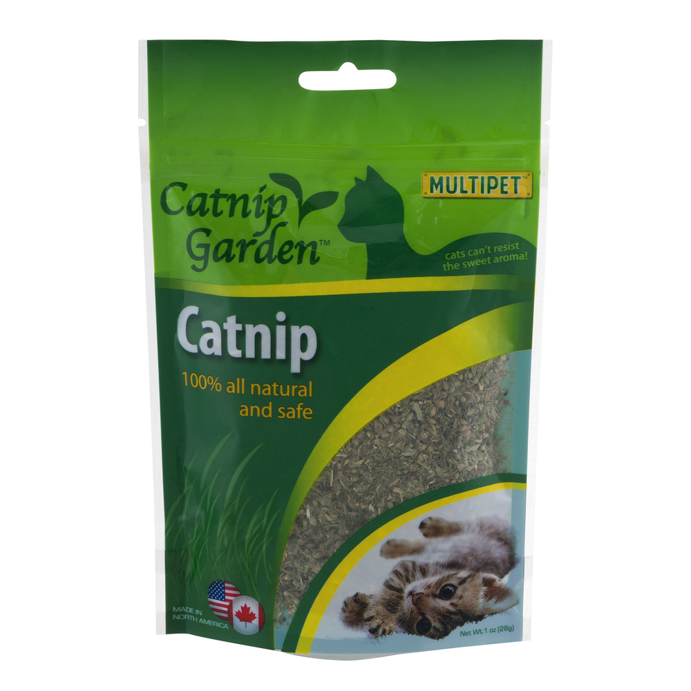 Catnip Garden 100% All Natural and Safe Catnip, 1.0 OZ by Multi-Pet International