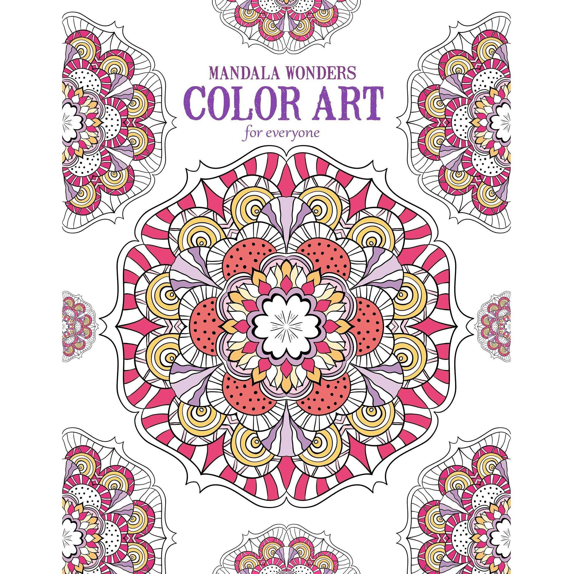 Mandala Wonders Color Art For Everyone by Generic