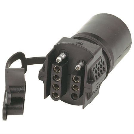 Hopkins 47345  Trailer Adapter 7 Way To 4 Wayflat W//circuit Tester
