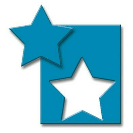 Scrapbook Paper Shapers Small Star Punch