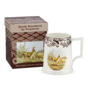 Mule Deer Tankard 16 Oz. Beer Glass