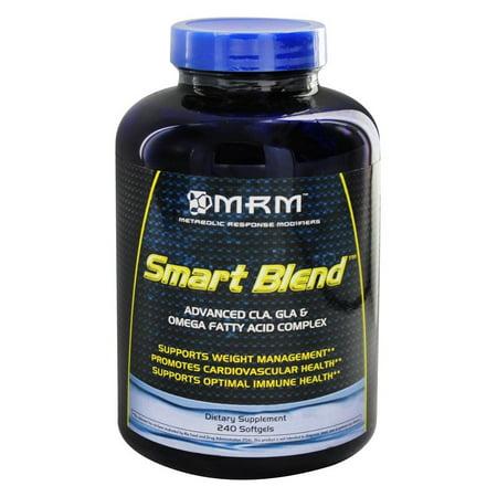 - Smart Blend avancée CLA GLA et gras oméga complexe acide - 240 Gélules