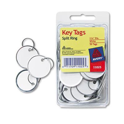 Avery Metal Rim Key Tags by