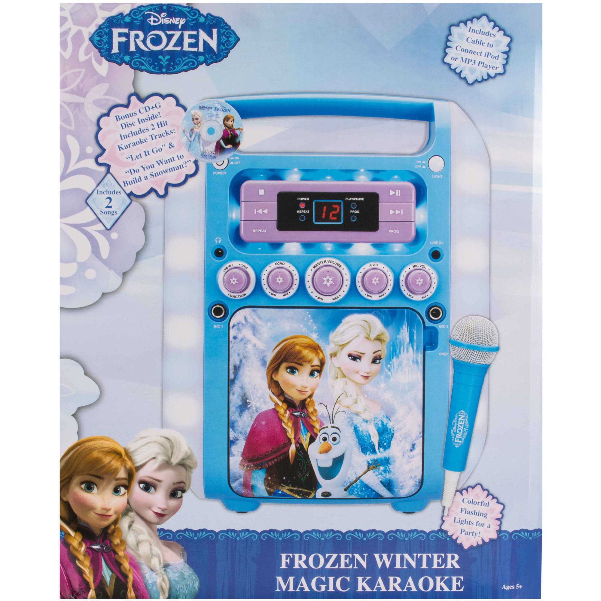 Disney Frozen KO2-07027-WINT Frozen Winter Magic Karaoke - Walmart.com 4b23ed4585d7