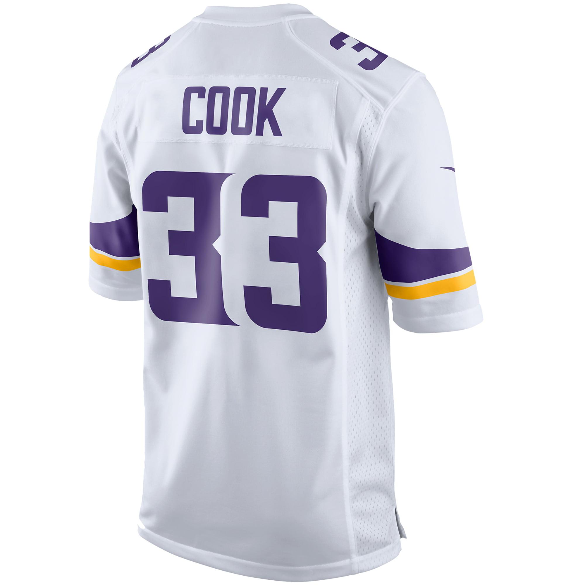 buy popular af97c 497ad Dalvin Cook Minnesota Vikings Nike Player Game Jersey - White