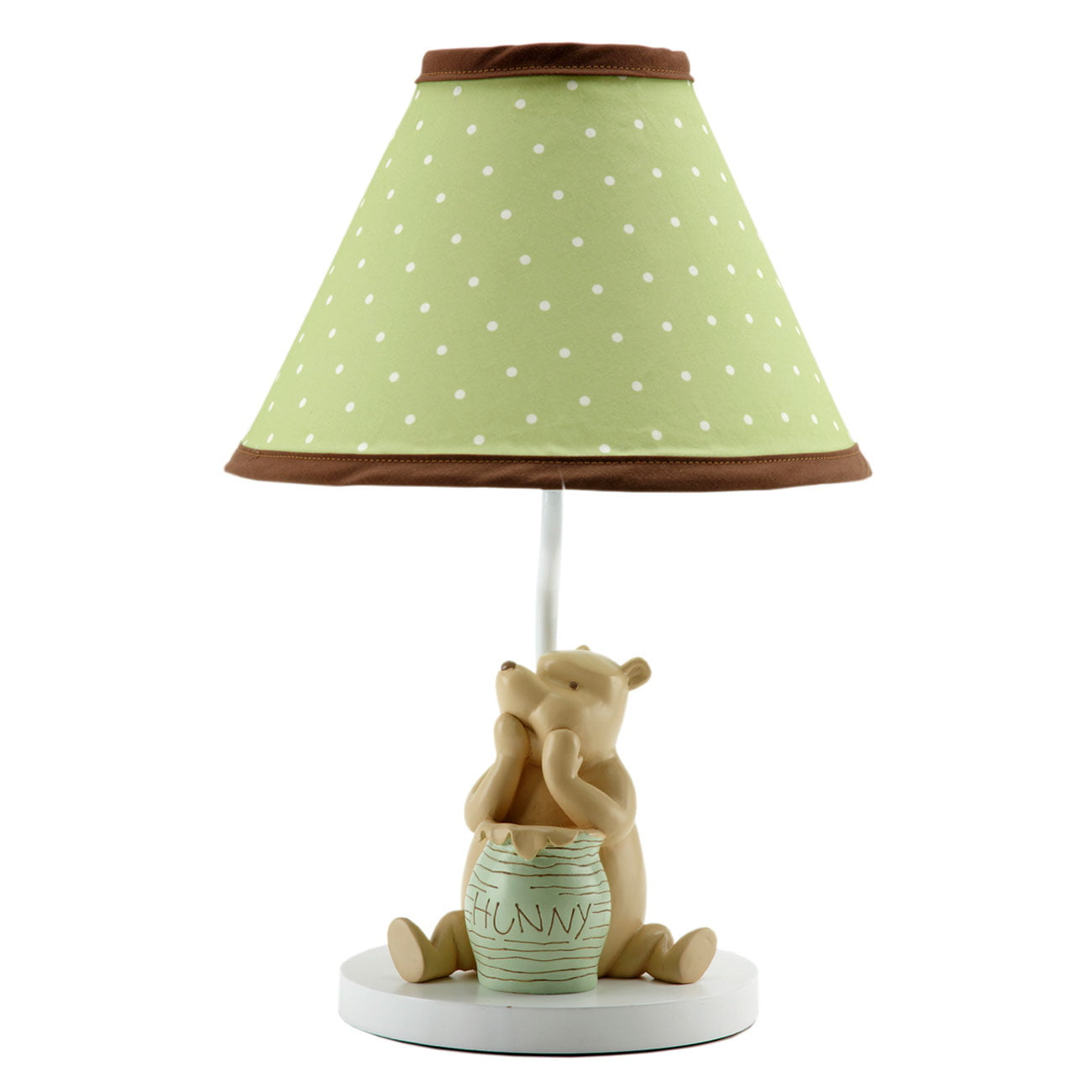 Nursery Lamp Base and Shade by Disney My Friend Pooh Collection Classic Winnie the Pooh by Disney