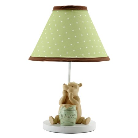 Nursery Lamp Base and Shade by Disney - My Friend Pooh Collection - Classic Winnie the Pooh