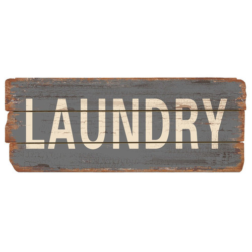 Nora Lane Rustic Laundry Wood Sign Wall Decor