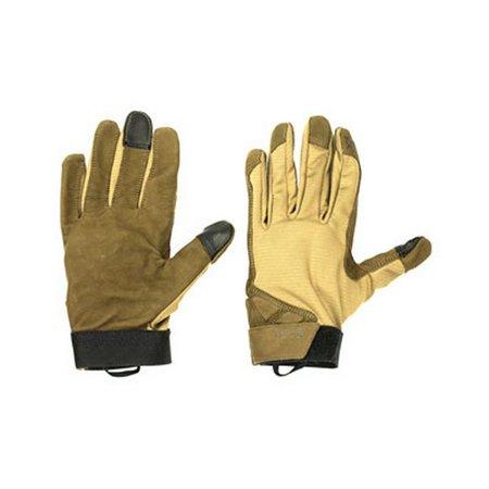 Vertx F1 VTX6000 TN MEDIUM Men's Tan VaporCore Shooter Gloves - Size Medium
