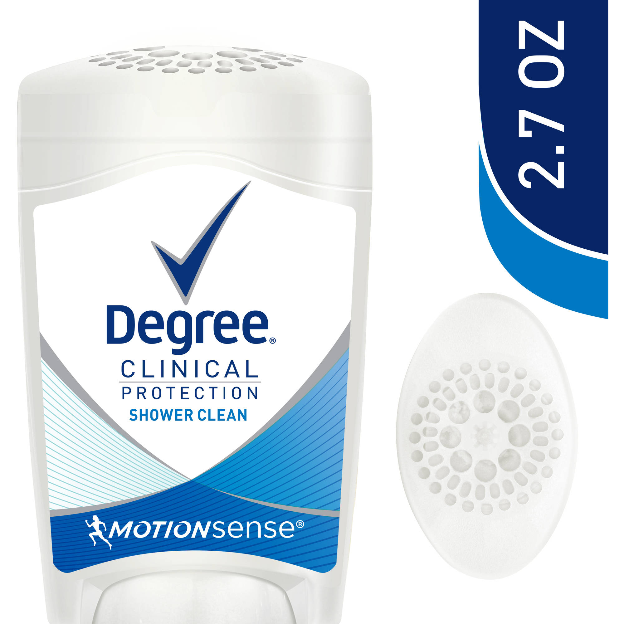 Degree Anti-Perspirant And Deodorant Clinical Protection Shower Clean Degree Women, 2.7 oz