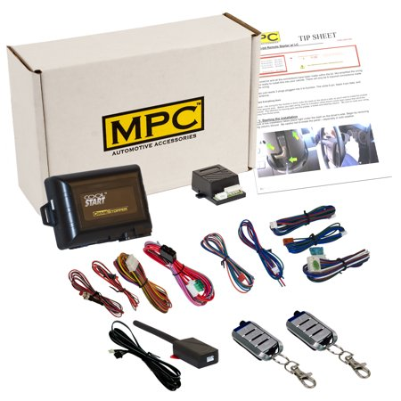 Complete 4-Button Remote Start Keyless Entry Kit For 2005-2006 Ford F-250